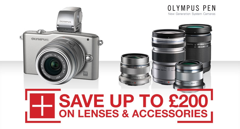Olympus Pen Lens & Accessories Cashback Promotion